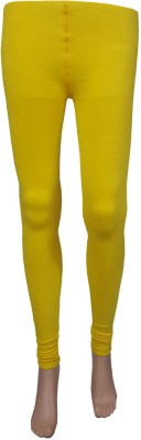 Stylefunia Women's Yellow Leggings