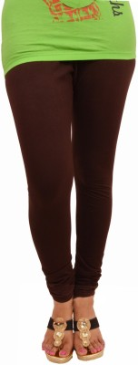 Leggings World Women,s Brown Leggings