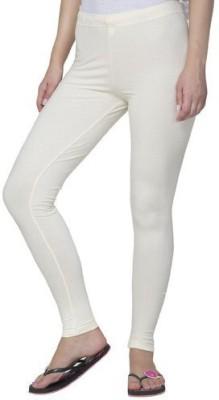 LYCRA Women's White Leggings