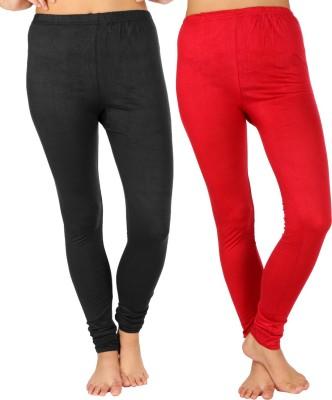 SLS Women's Black, Maroon Leggings