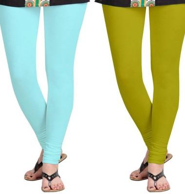 Roshni Creations Women's Blue, Beige Leggings