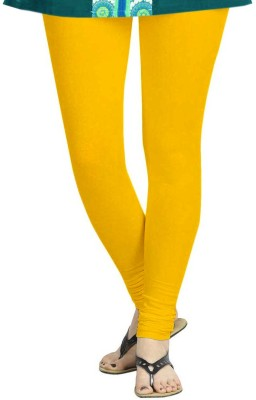 TBZ Women's Yellow Leggings