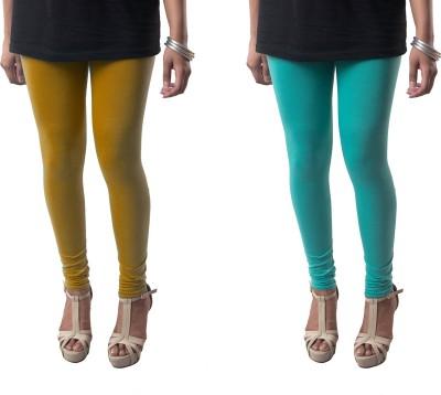 amie Women's Dark Blue, Brown Leggings