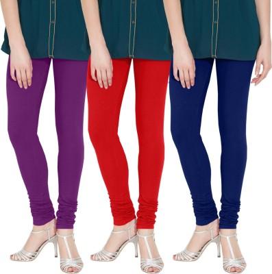 Nicewear Women's Purple, Red, Blue Leggings