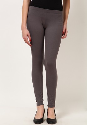 Desi Fusion Women's Grey Leggings