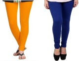 StudioRavel Women's Yellow, Blue Legging...