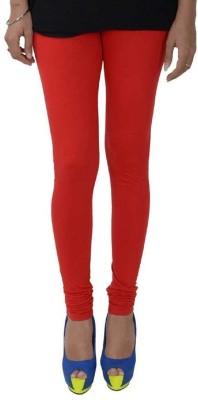 Fashioncrush Women's Red Leggings