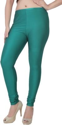 Bottoms More Women's Green Leggings