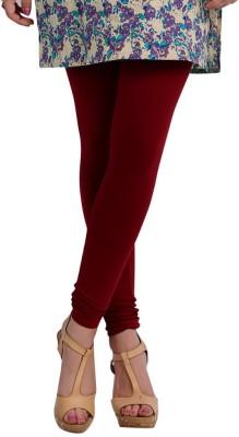 Colors More Women's Maroon Leggings