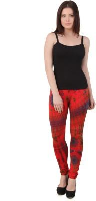 Mojeska Women's Red Leggings