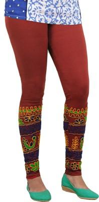 Ole Fashion Women's Maroon Leggings