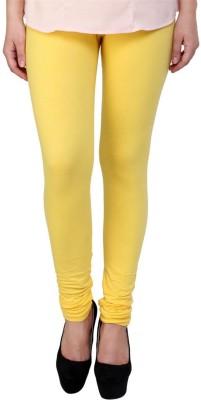 Fashion Hut Women,s Yellow Leggings