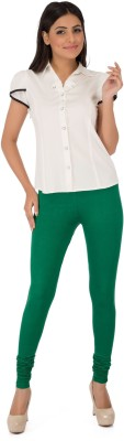 Legrisa Fashion Women's Dark Green Leggings