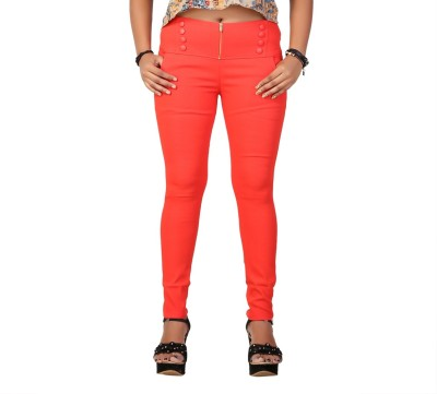 Velveeta18 Women's Red Jeggings