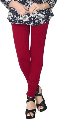 JV Wears Women's Red Leggings
