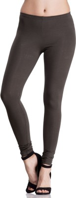 Femella Women's Dark Green Leggings at flipkart