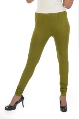 Crezyonline Women's Green Leggings