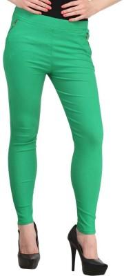 Hardys Women's Green Jeggings