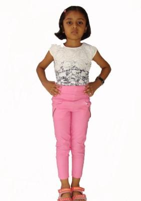 E2G Girl's Pink Jeggings