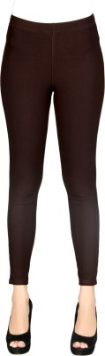 Sheenbottoms Women's Brown Jeggings