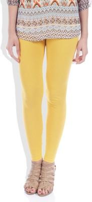 TOP ONE Women's Yellow Leggings