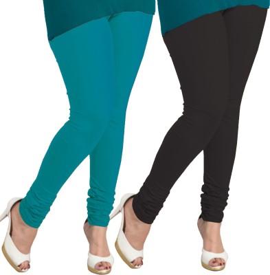 I-Diva Women's Blue, Black Leggings
