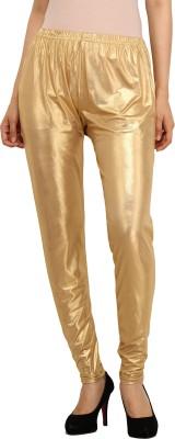 Guru Nanak Fashions Women's Gold Leggings