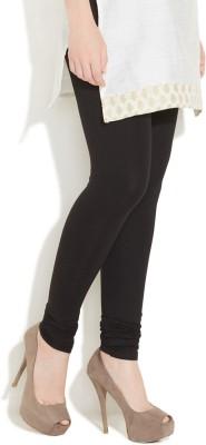 Vita Elegante Women's Black Leggings