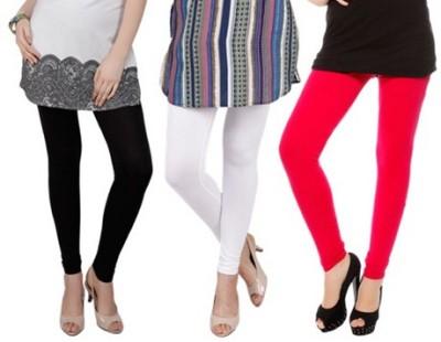 Prekrasna Women,s Black, White, Red Leggings