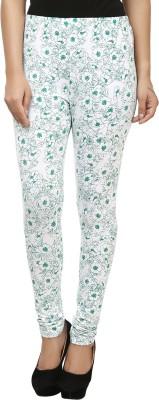 Beetle Women's Green, White Leggings