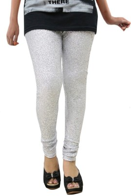 Fashion Kala Women's Silver Leggings