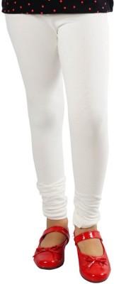 DEVYA FASHION Girl's White Leggings
