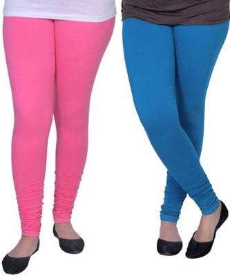 Roma Creation Women's Pink, Blue Leggings