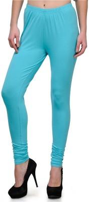 JUST CLIKK Women's Blue Leggings