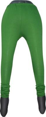 Yumlookup Women's Green Leggings