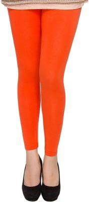Shiv Fabs Women,s Orange Leggings