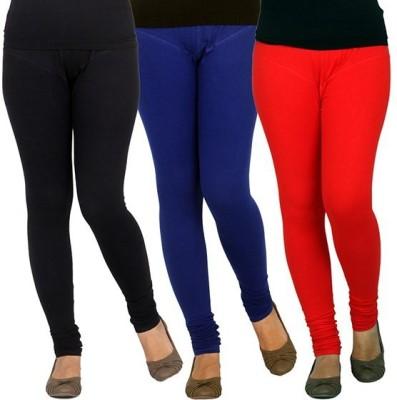 XCL Women's Black, Blue, Red Leggings