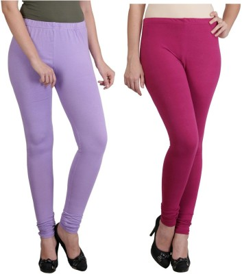 Ahhaaaa Women's Purple, Maroon Leggings