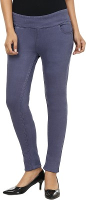 Fashion Cult Women's Blue Jeggings