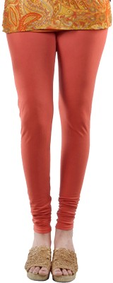 Elisha Women's Orange Leggings