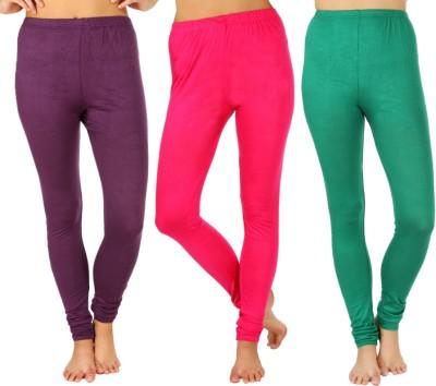 SLS Women's Purple, Pink, Green Leggings