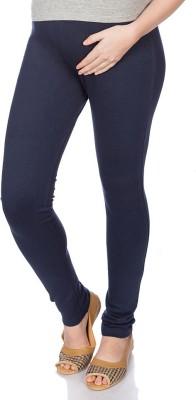 Goldstroms Womens Maternity Wear Dark Blue Leggings