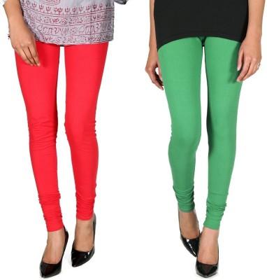 Ally Of Focker Women's Red, Green Leggings