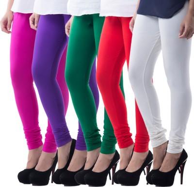 Medha Women's Multicolor Leggings