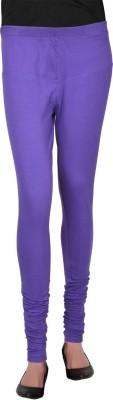 Bellizia Women's Purple Leggings