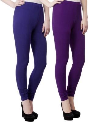 m&j Women's Purple, Blue, Red Leggings