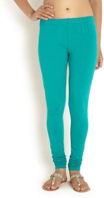 Soch Women's Light Green Leggings