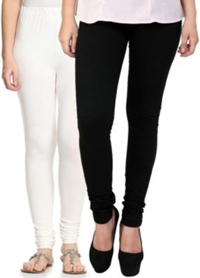 Hirshita Leggingss Women's White, Black Leggings