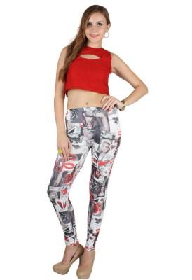 N-Gal Women's Red Leggings