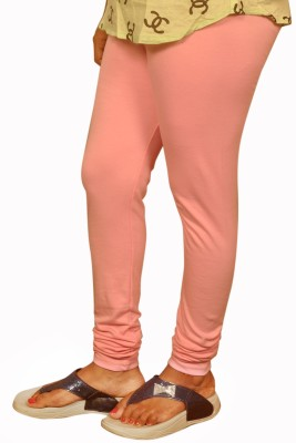 Dyed Colors Women's Pink Leggings